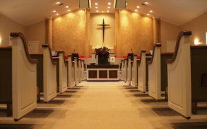 House of Worship: Pew Seating