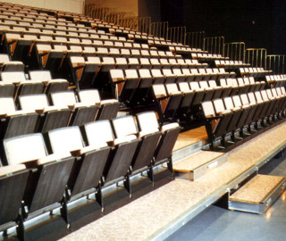 Retractable Seating | House of Worship Seating