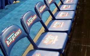 Blue Demons: Portable Interlocking Seating