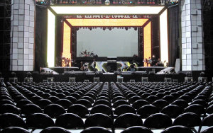 Concert Seating: Portable Interlocking Seating
