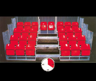 Demountable Seating - The Stadia - The Facts | Portable Stadium Tiered Seating