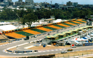 Adelaide Grand Prix: Portable Stadium Tiered Seating