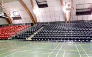 Arena Manawatu: Portable Stadium Tiered Seating