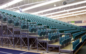 Stadium Southland: Portable Stadium Tiered Seating
