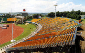 XIV Commonwealth Games 1990: Portable Stadium Tiered Seating
