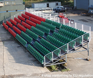 The Otara System | Portable Stadium Tiered Seating