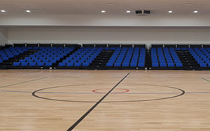 Mundaring Indoor Sports Stadium, WA: Retractable Seating