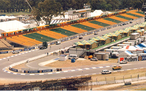Australian Formula One Grand Prix: Portable Stadium Tiered Seating