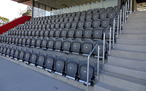 Blacktown Workers Sports Stadium 1700 Apollo 2863 Seats installed 2018