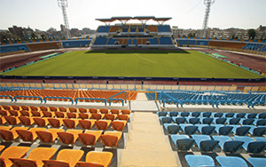 Ismailia Stadium, Egypt: Stadium Seating