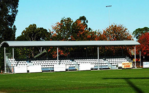 Jensen Park Bankstown Eastern Grandstand: Portable Stadium Tiered Seating