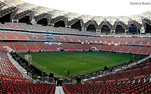 King Abdullah Stadium: Stadium Seating