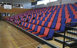 MacKillop College, Tasmania: Multi Purpose & Gymnasium Seating