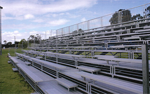 Mounties Club Italia, Mount Pritchard NSW: Portable Stadium Tiered Seating