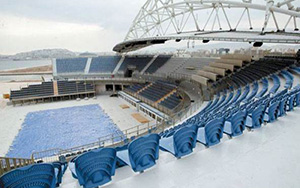 Olympic Beach Volleyball, Athens: Stadium Seating