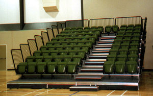 Queenstown Events Centre NZ: Retractable Seating