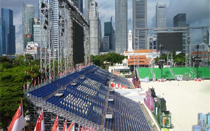 Singapore National Day Parade 2010: Grandstand Seating