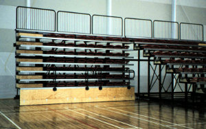 Taupo SportsLeisure Centre NZ: Retractable Seating