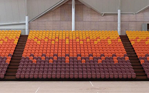 Taurama Squatic & Indoor Sports Complex, Port Moresby, PNG: Retractable Seating