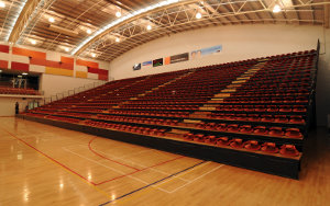 Pettigrew Arena: Retractable Seating