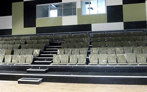 Redbank Plains High School : Retractable Seating