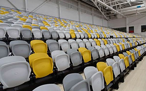 Carrara Indoor Sports Stadium: Retractable Seating