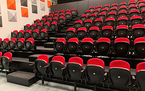 Tuggerah Performing Arts Centre, Central Coast, NSW - Apollo 2863R Seats installed 2020