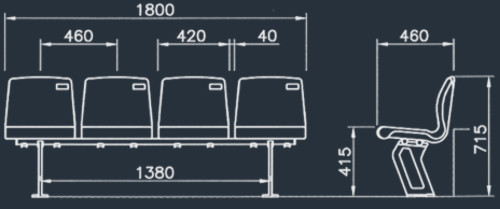 ASC 1009W | Stadium & Arena Seating