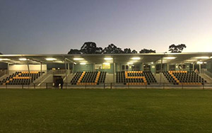 Forrestfield United Soccer Club W A : Stadium Seating