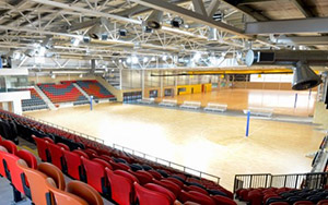 Marrara Indoor Netball Centre, NT: Fixed Stadium Seating, Australasia